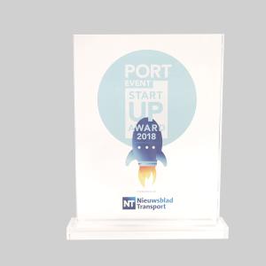 Award met logo